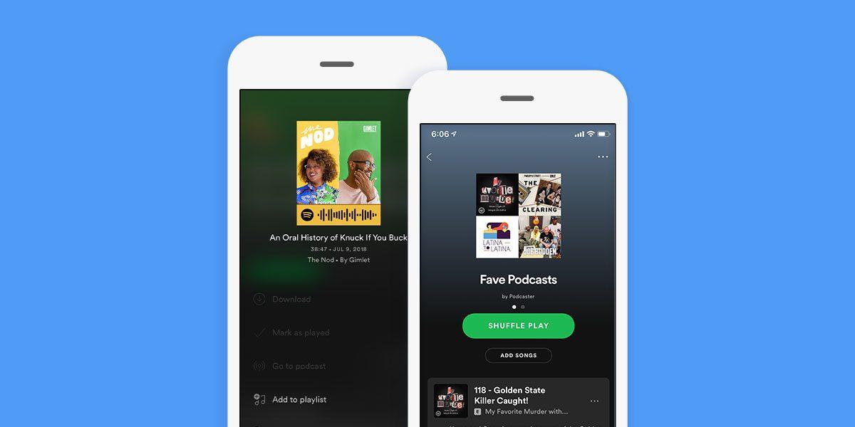 Spotify podcasts 2