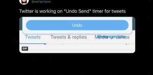 Twitter Undo Send