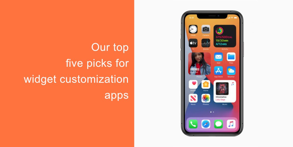 Our top five picks for widget customization apps