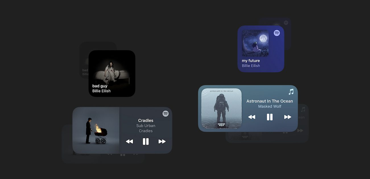 WidgetPod brings Now Playing widgets for Spotify and Apple Music to iOS