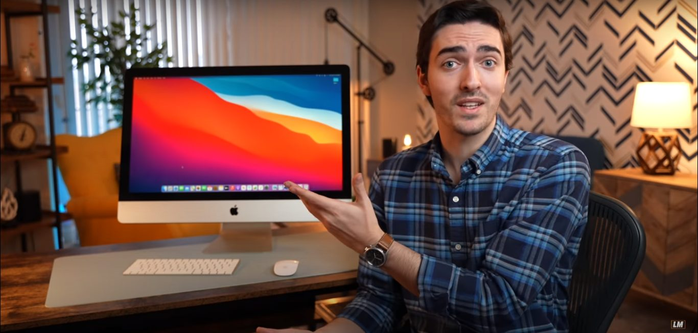 YouTuber - Apple Silicon iMac 2