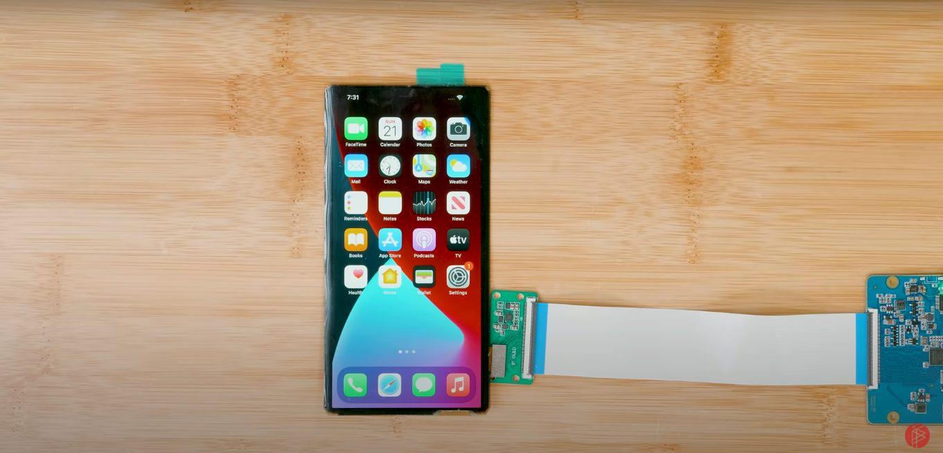 foldable iPhone - Strange Parts