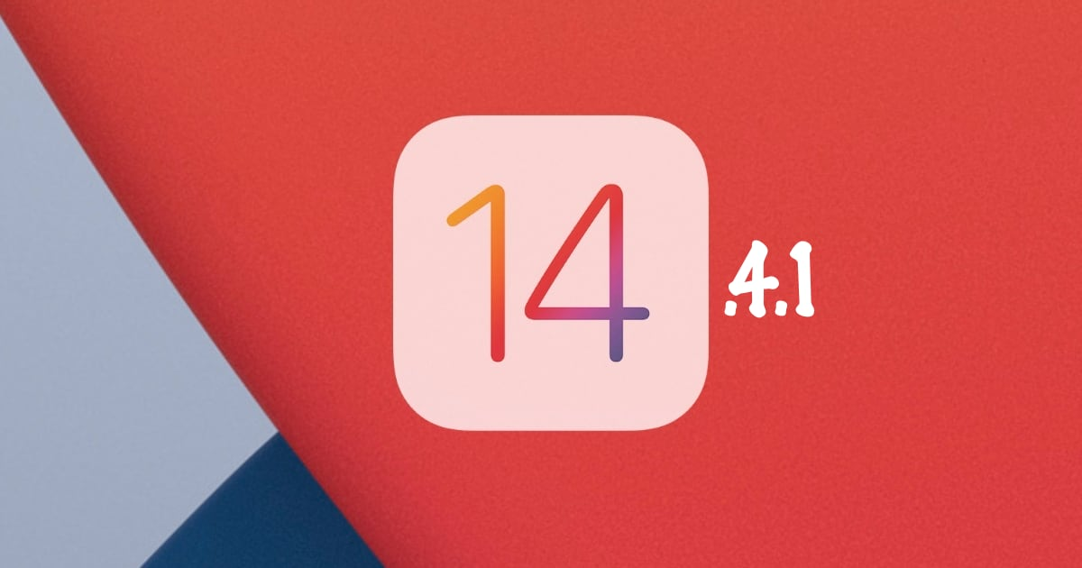 iOS 14.4.1 and iPadOS 14.4.1