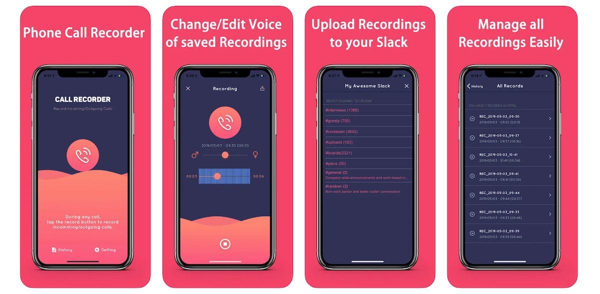 iPhone call recording app