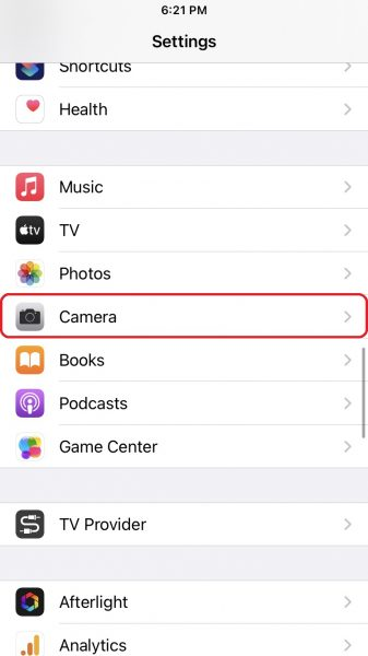 Learn how to enable HDR Video Recording on iPhone