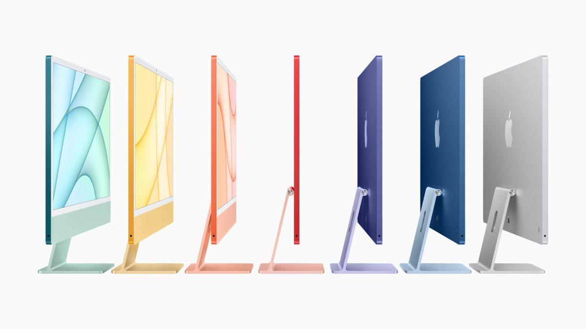 M1 iMac colors