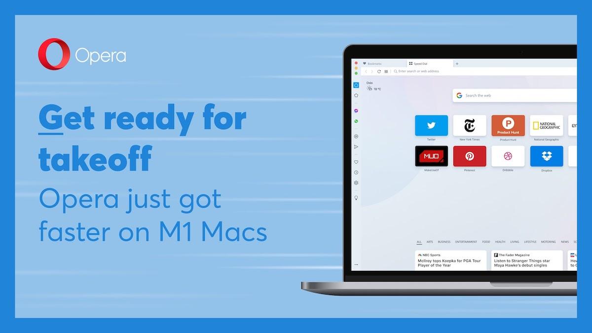 Opera browser- M1 Mac