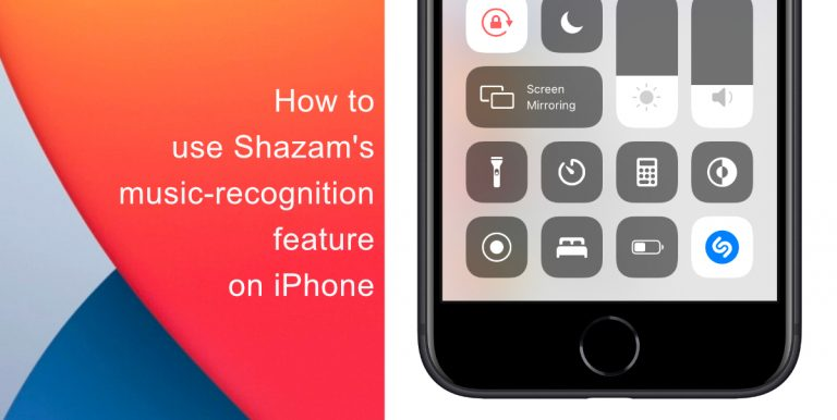 Shazam music recognition
