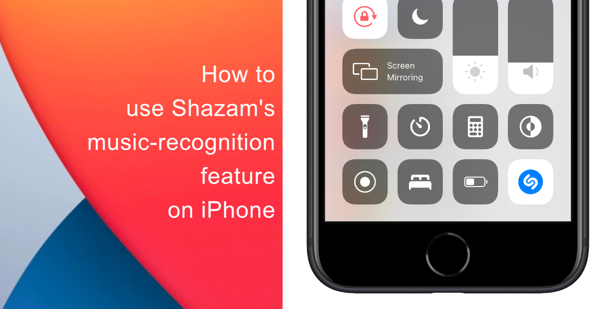 How to use Shazam's native music-recognition feature on iPhone