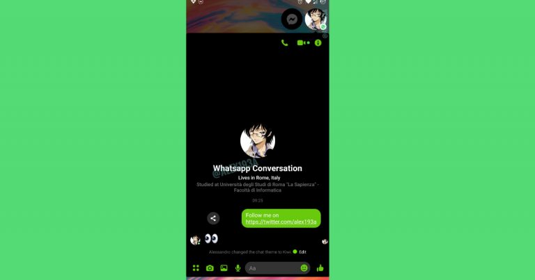 WhatsApp Messenger intergration