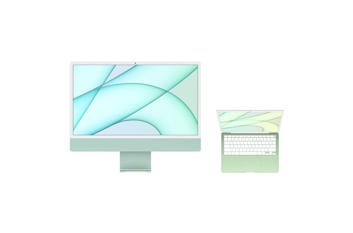iMac MacBook Air concept