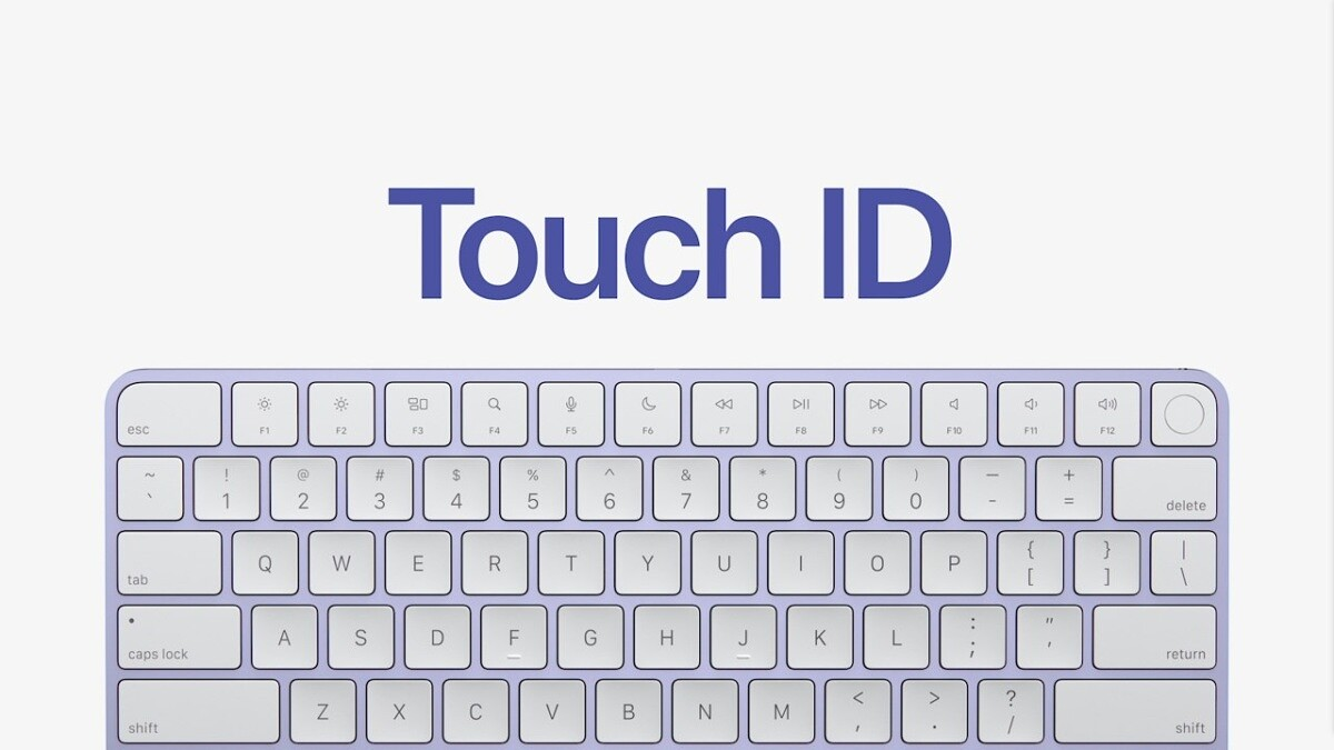 iMac Magic Keyboard with Touch ID