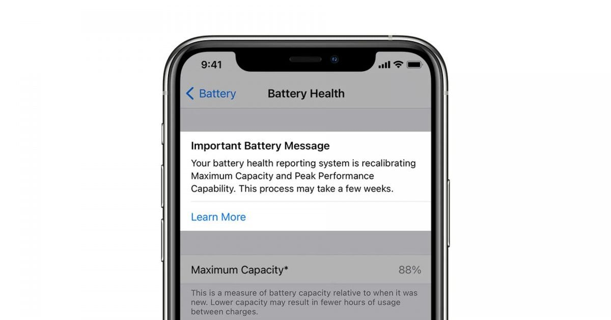 iPhone 11 users beginning to see altered battery health percentages after iOS 14.5 recalibration process