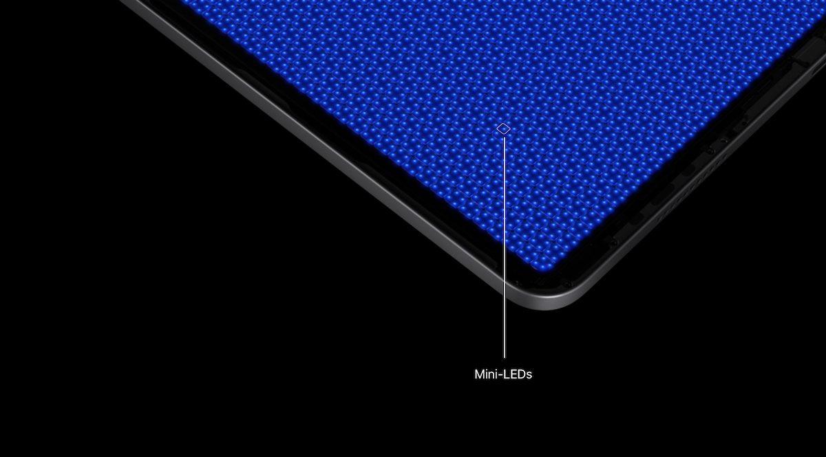 iPad Pro mini-LED Liquid Retina XDR Display