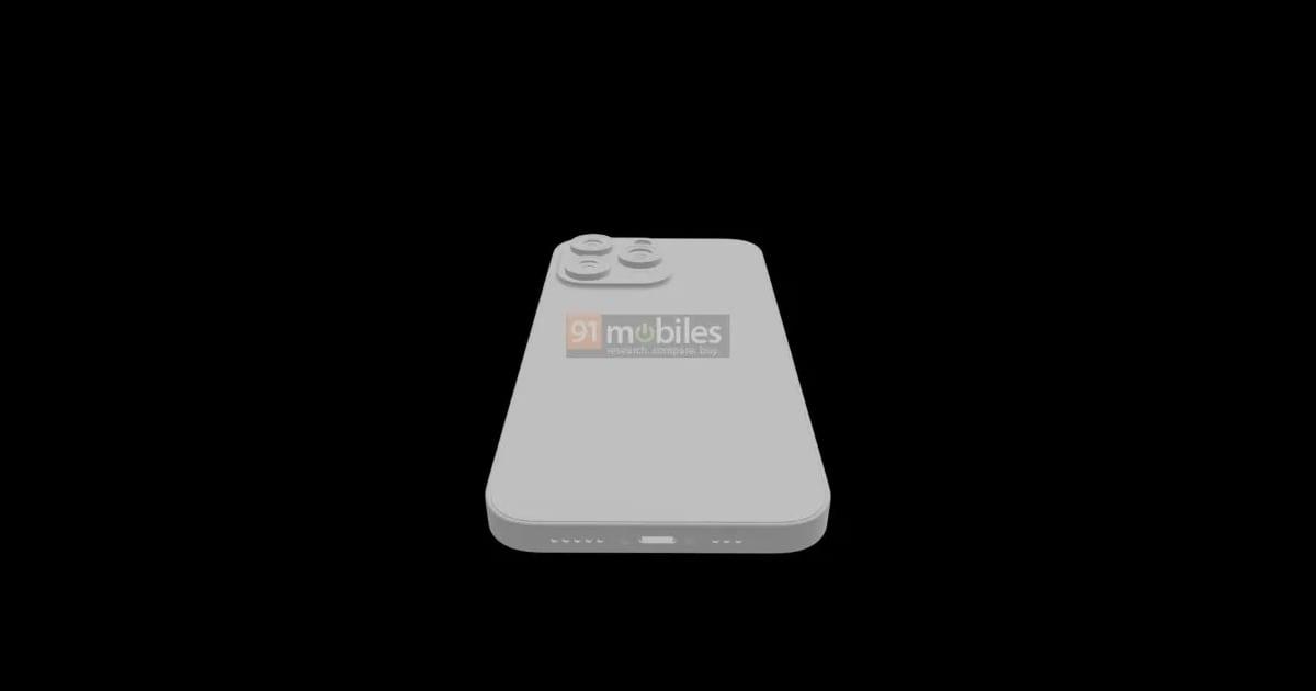 iPhone 13 Pro render