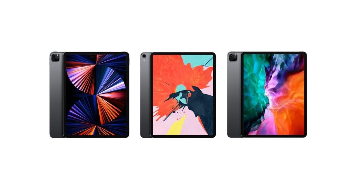 2021 iPad Pro vs 2020 iPad Pro vs 2018 iPad Pro - Features comparison