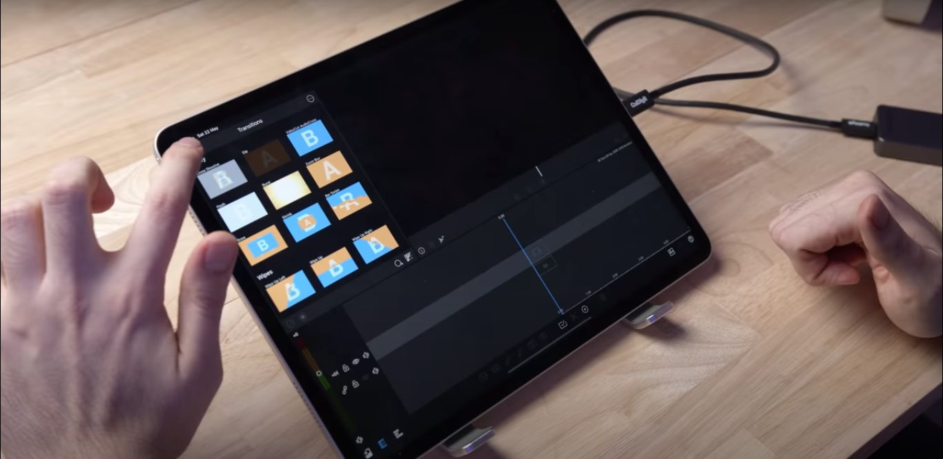 M1 iPad PRo 4K editing performance test