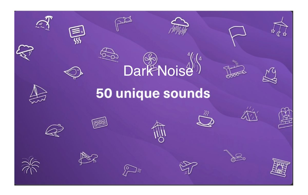 Dark Noise app on Mac