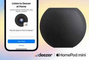 Deezer on HomePod mini