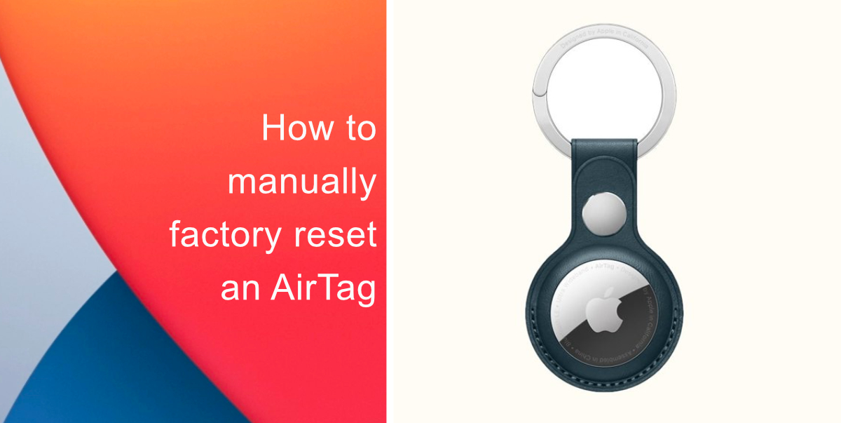How to rename an AirTag