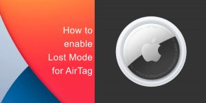 Lost Mode AirTag