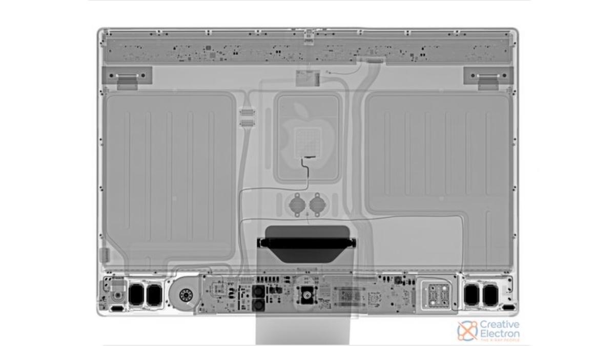 M1 iMac teardown