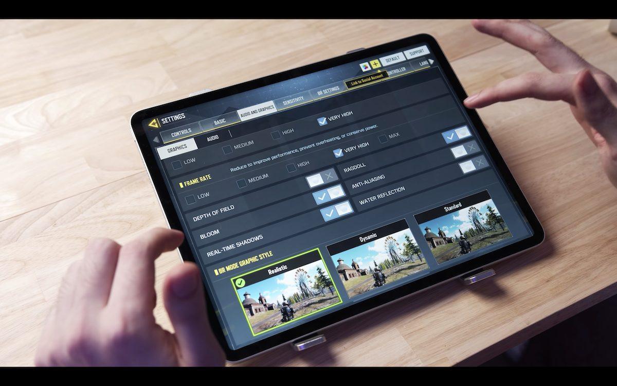 M1 iPad Pro - gaming test