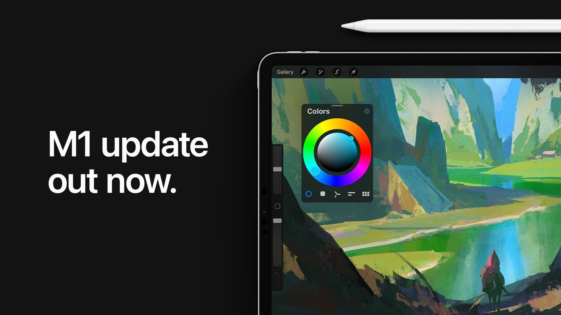 Procreate M1 iPad Pro