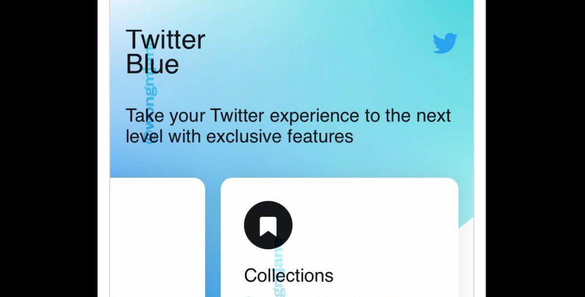 Twitter Blue on iOS