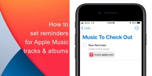 apple music reminders