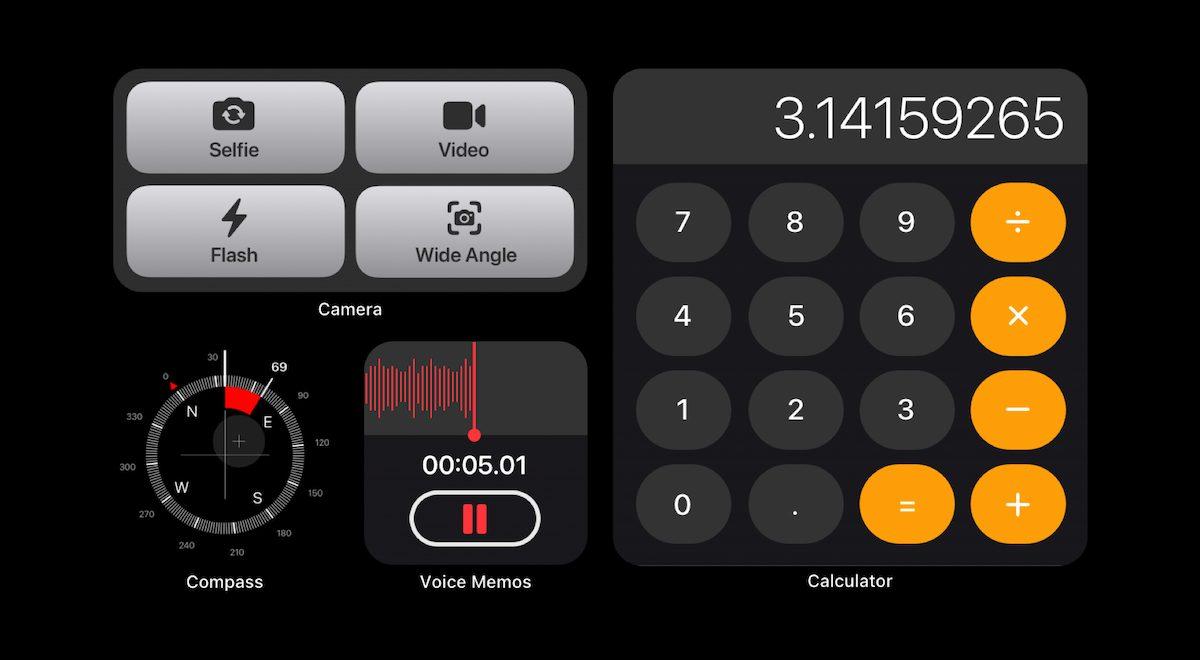 iOS 15 widgets
