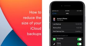 Learn how to reduce the size of your iCloud backup on iPhone and iPad