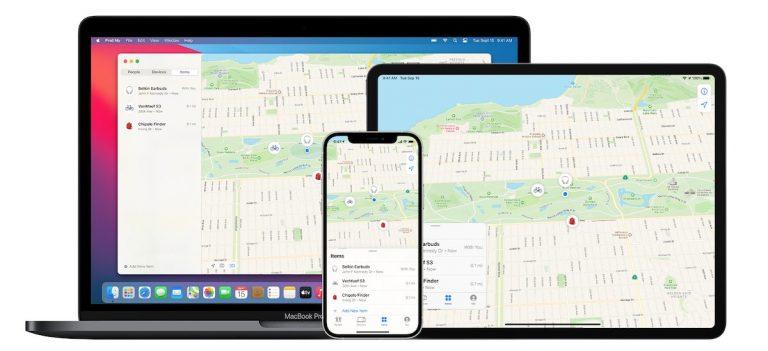 Apple Find My network- Google