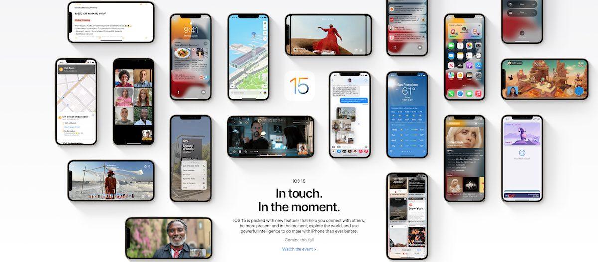 Privacy - iOS 15