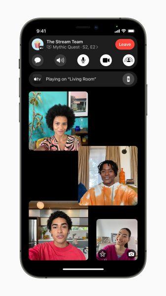 iOS 15 SharePlay