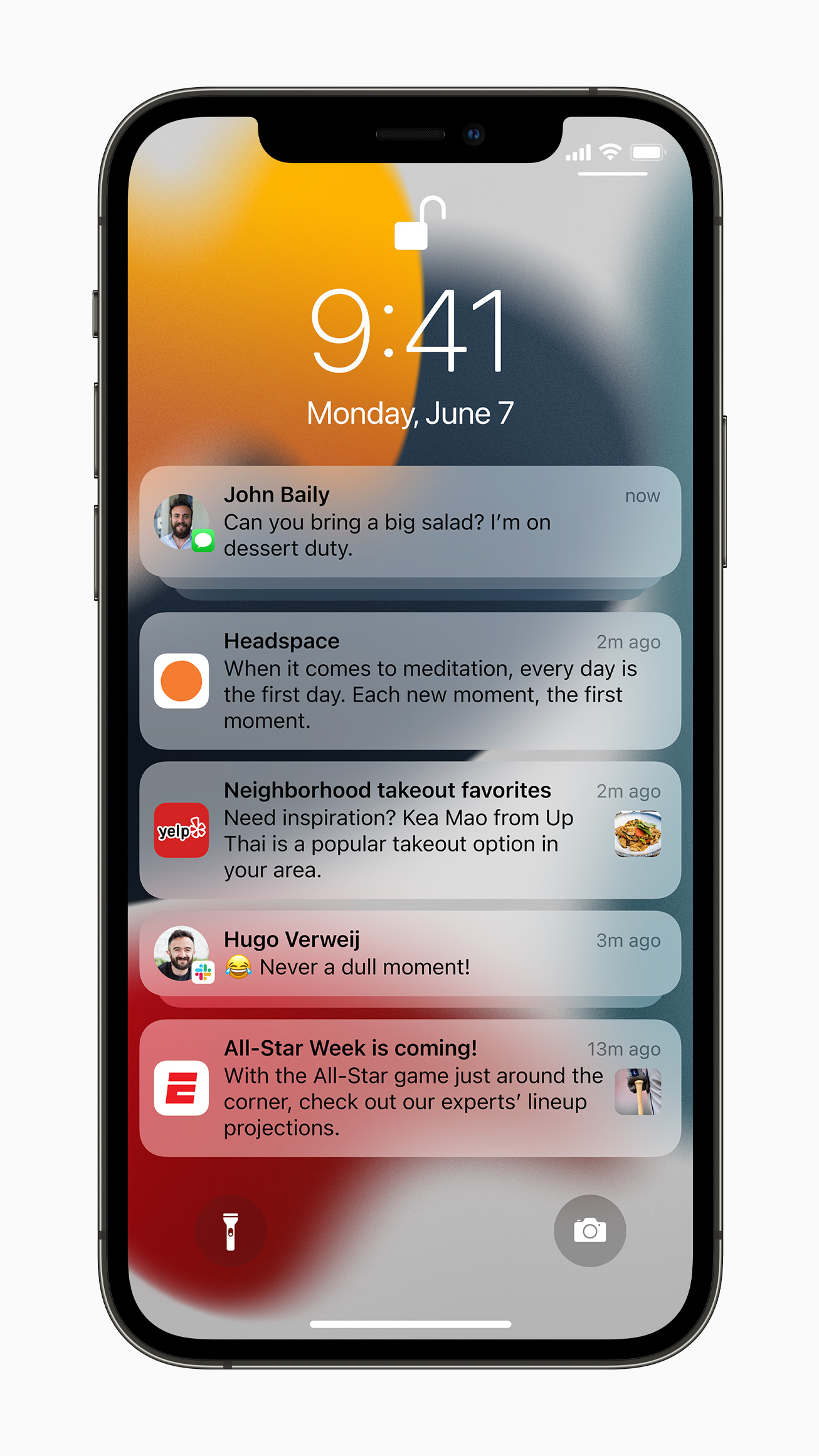 iOS 15 notifications