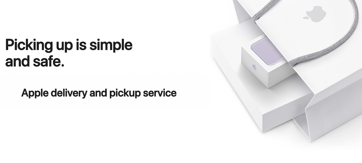 Apple pickup service