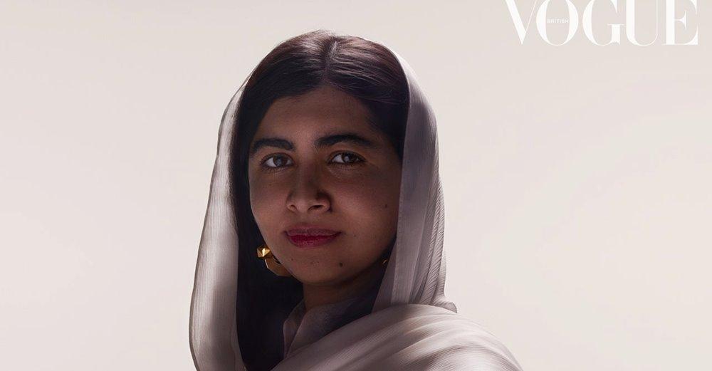 Malala Vogue Tim Cook