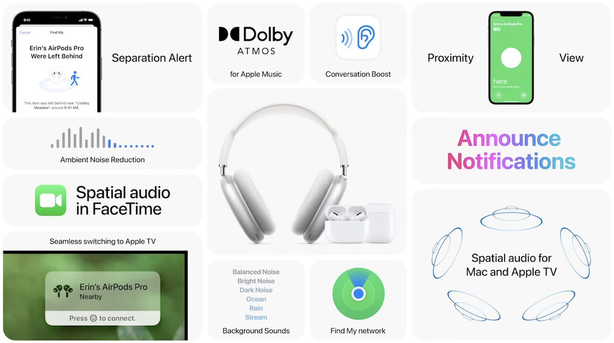 New AirPods software