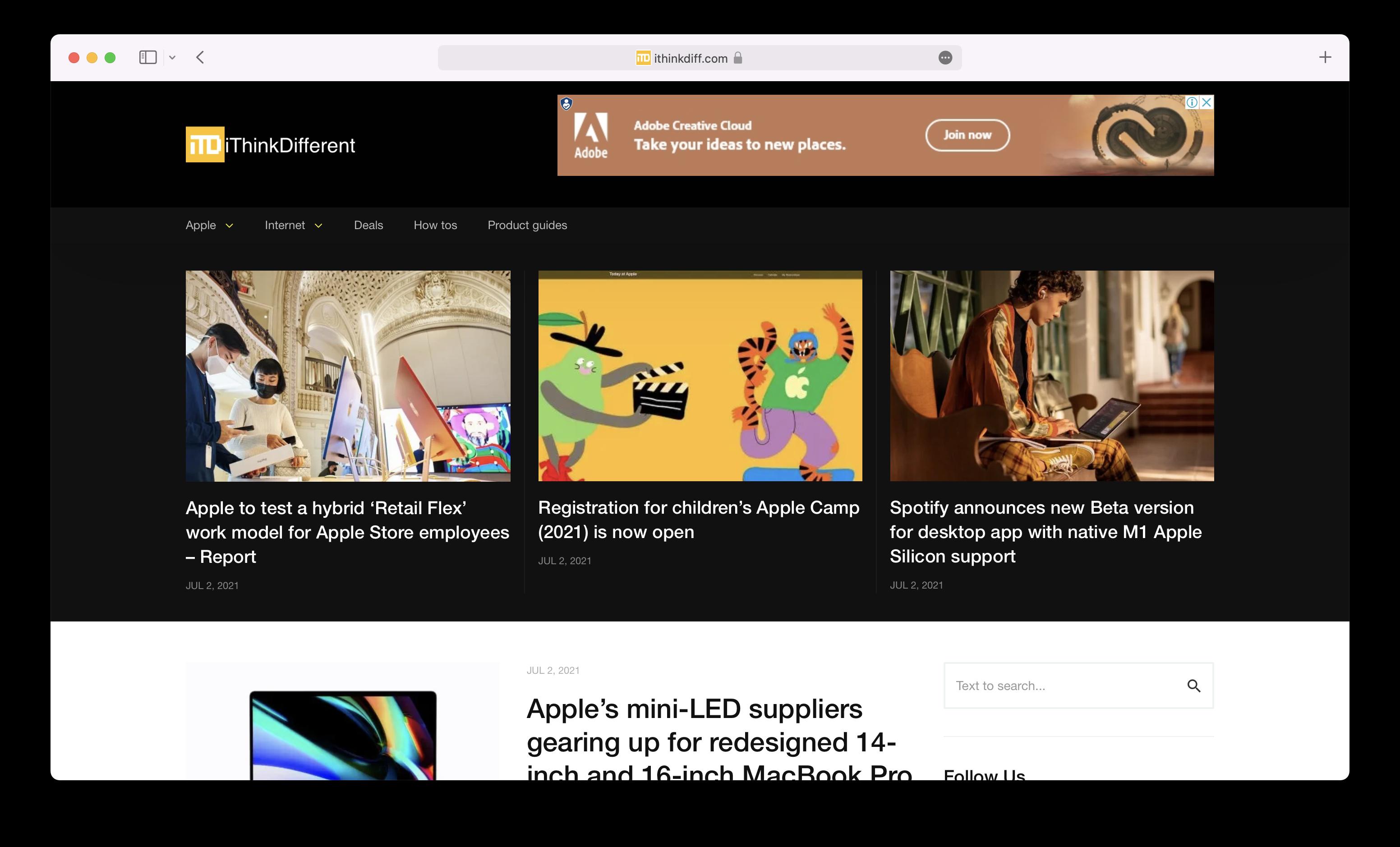 Safari macOS Monterey tab bar color disabled