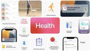 Apple Health app ios 15