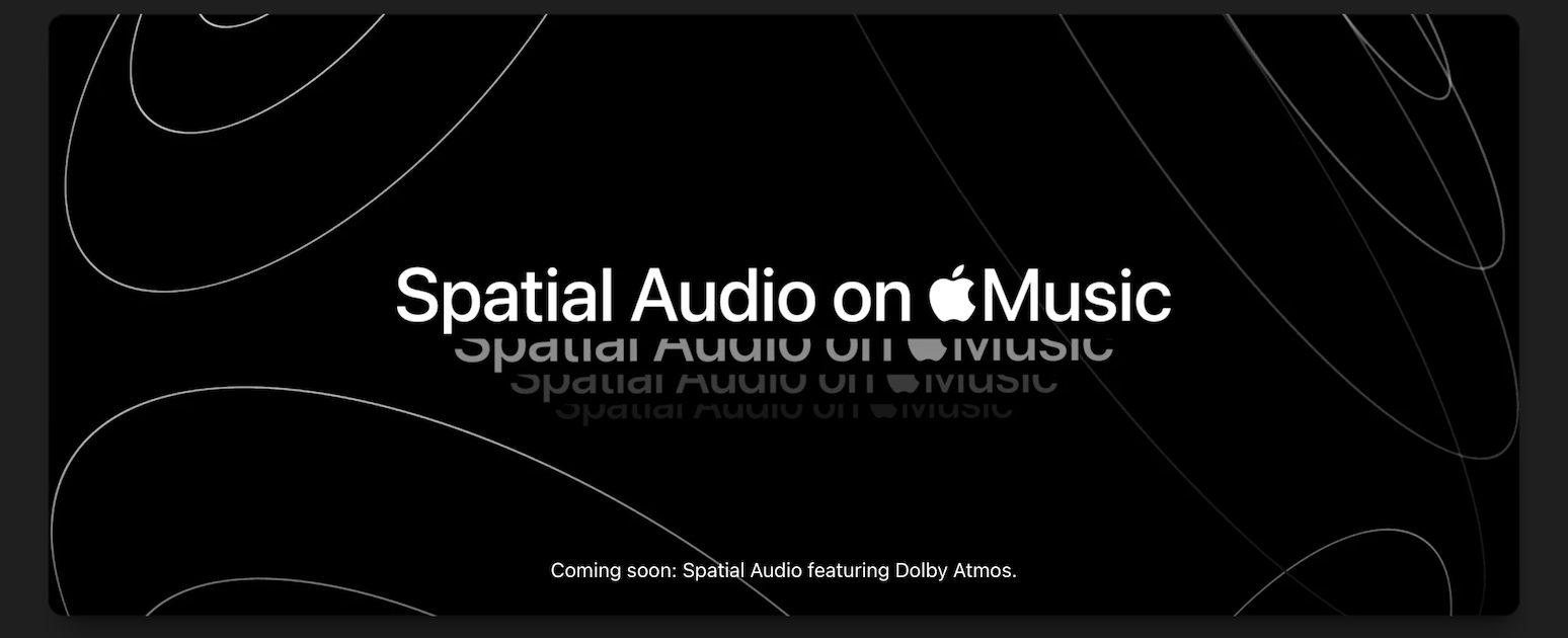 Spatial Audio on Apple Music