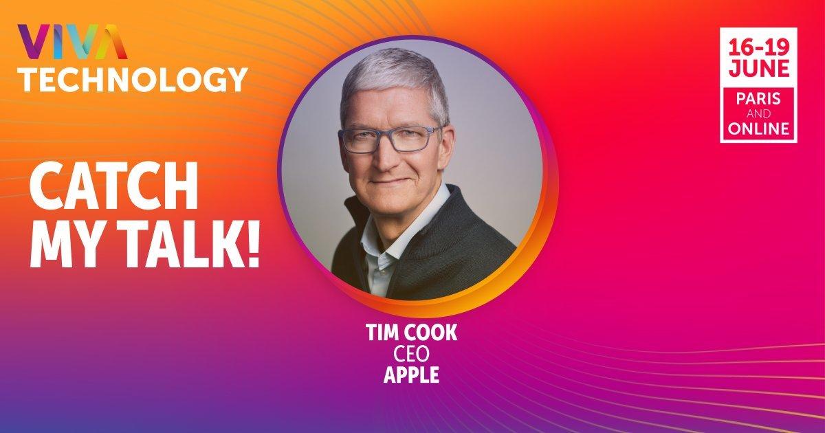 Tim Cook- VivaTech