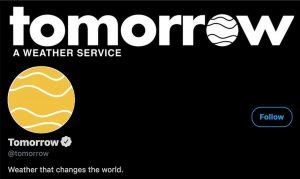 Twitter -Tomorrow service