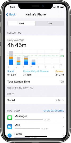 iOS 15 Screen Time API