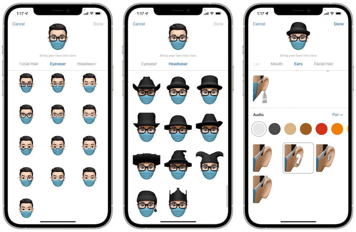 iOS 15 new Memoji