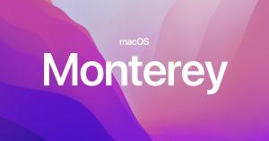 macOS Monterey - Universal control