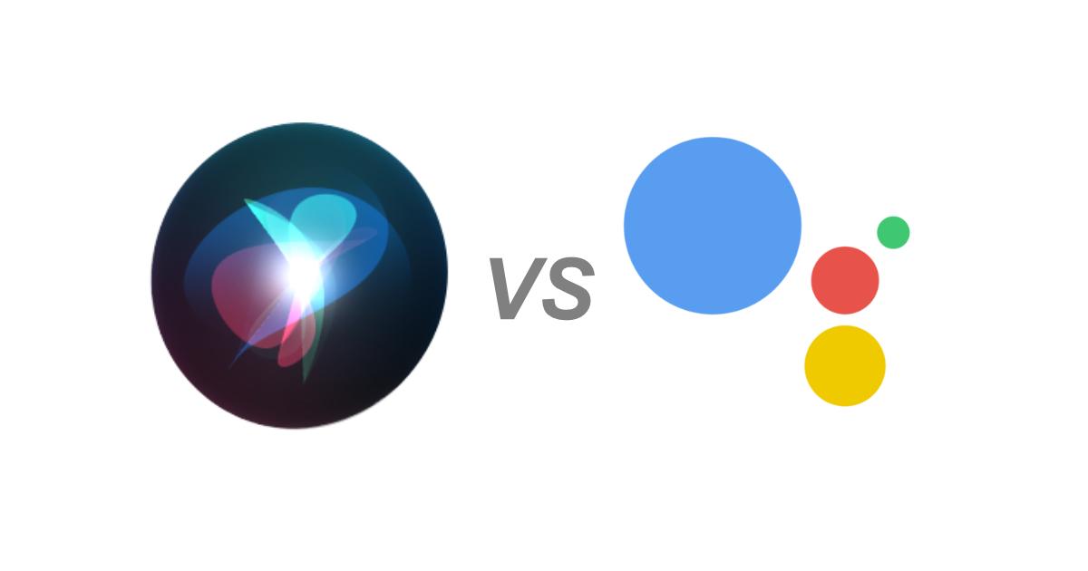 Siri on iOS 15 vs Google Assistant on Android 12 -