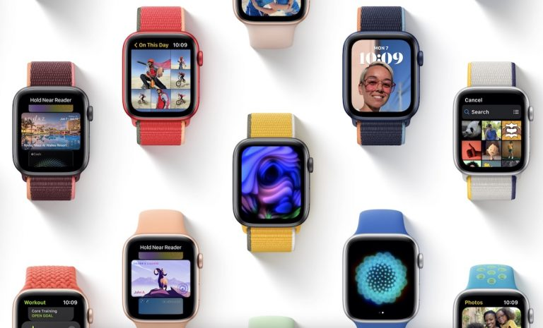 Apple Watch watchOS 8 beta