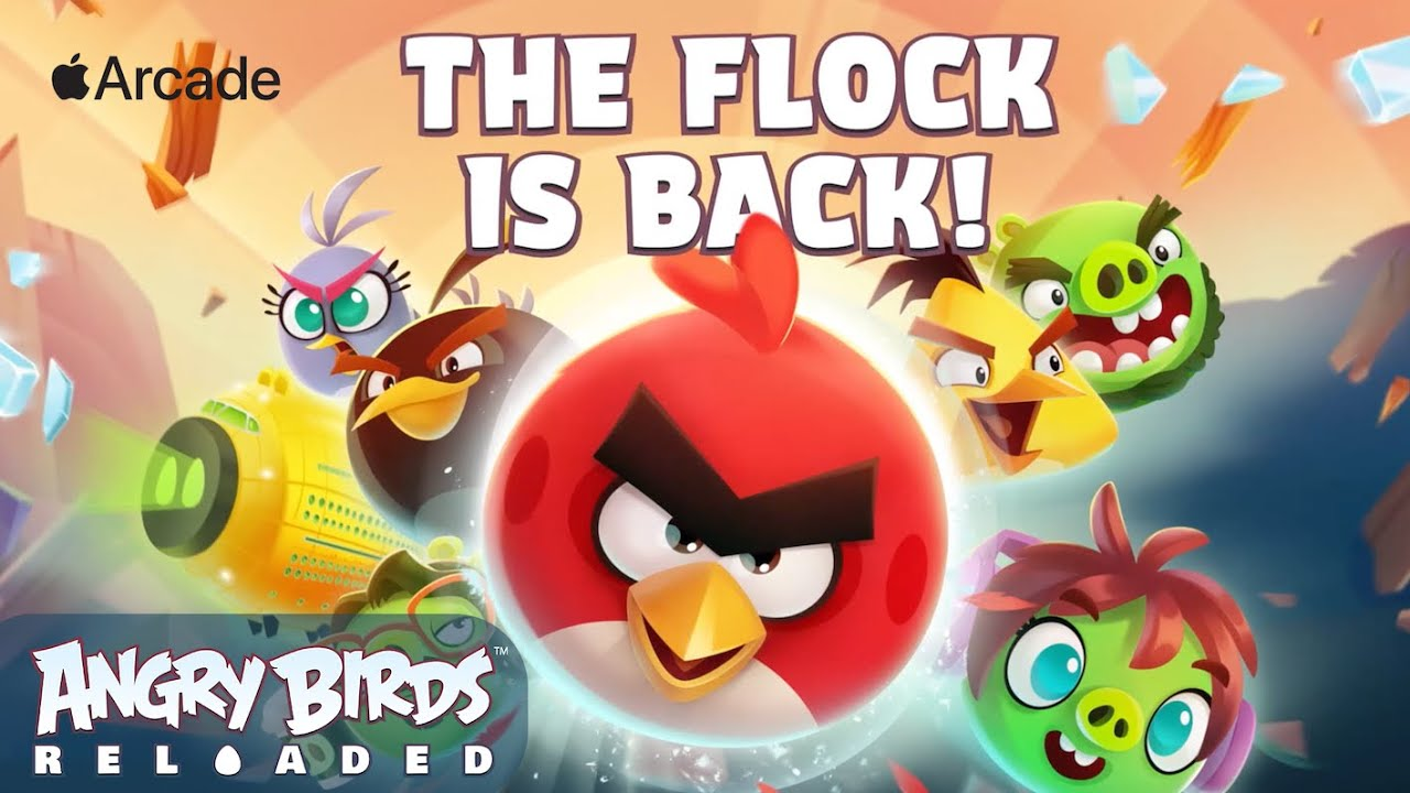 Apple Arcade Angry Birds Reloaded